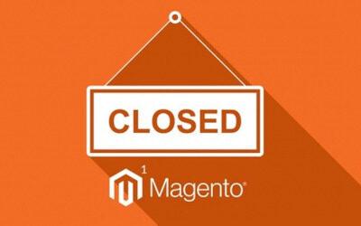 Magento 1 elukaare lõpp saabub 30 juuni 2020